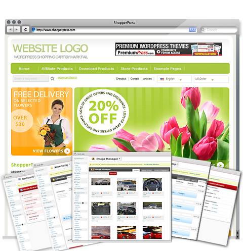Website shops
